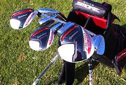 Golfschlägerverleih